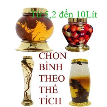 Bình Ngâm Rượu 5,2 Đến 10Lít