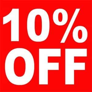 Giảm giá 5 đến 10%