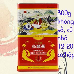 Hồng Sâm Khô Daedong 300g Củ Nhỏ