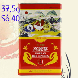 Hồng sâm khô Daedong 37,5gr số 40