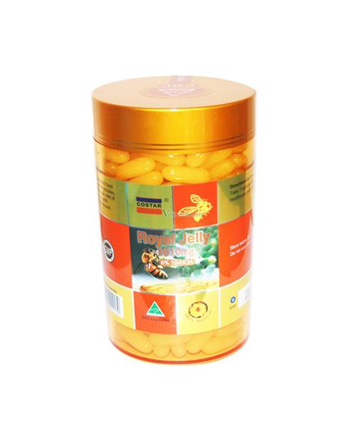 Viên Sữa Ong Chúa Royal Jelly Costar loại 1610mg x 365 viên