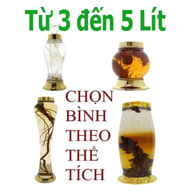 Bình Ngâm Rượu 3 Đến 5Lít