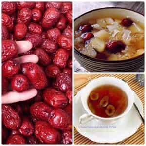 Chè hạt sen táo đỏ