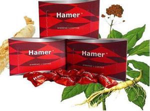 Kẹo sâm Hamer Mỹ  tăng cường sinh lý