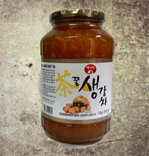 Mật Ong Gừng Hàn Quốc 1000gr