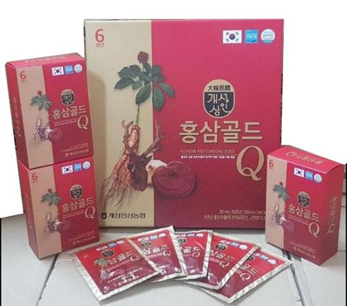 Nước Hồng Sâm Nhung Huơu Hàn Quốc Gold
